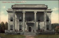 Johnstown NY Colonial Club House c1910 Postcard