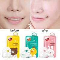 Korean Facial Skin Care Face Mask Sheet Pack Essence Collagen Deep Moisture 20g