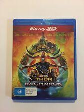 Thor Ragnarok (3D Blu-ray, 2018) Brand New & Sealed Movie Marvel Rated M Movie