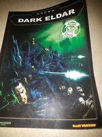 Warhammer 40k Dark Eldar Codex Army Book 2nd Ed Games Workshop Drukhari OOP GW