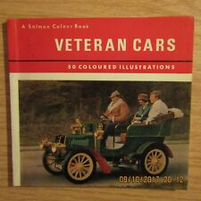 VETERAN CARS Austin Benz Oldsmobile Delage Pieper Renault & MORE Book 1972