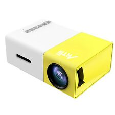 Mini Projector Artlii Portable LED Projector Home Movie Cinema Theater with L...
