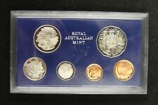 Australia Proof Coins Set of 6 Pieces 1979 UNC, With an Original Case