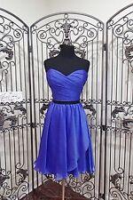 S419 LOVE BY ENZOANI G6 SZ 14 BLUE INK BLACK  $260  PAGEANT DRESS GOWN