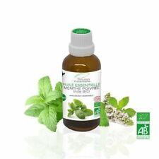 Huile Essentielle BIO Menthe Poivrée 50ml. ABLabel, Ecocert Bio 100 % Pure.