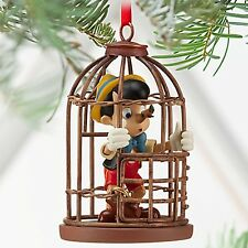 Disney Pinocchio Cage Nosey Christmas Tree Ornament (NEW) 2013