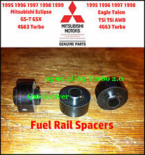 1995 1999 Talon TSi Eclipse GST GSX 4g63 Fuel Injector Rail Spacers set of 3