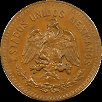 1935 MEXICO 20 CENTAVOS ~ Mo Mint ~ KM 437 ~ Uncirculated