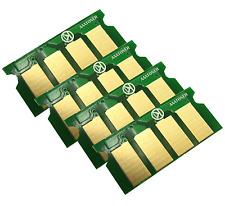 4 x Toner Chip (BCMY) for Dell C1760NW, C1765NF, C1765NFW, 1250c Printer Refill