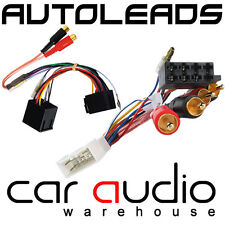 PC9-406 Toyota MR2 Import 1985-91 Car Stereo Amp Bypass RCA - ISO Wiring Harness