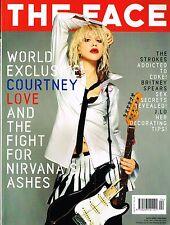 THE FACE April 2002 Courtney Love BRITNEY SPEARS Nicole Lenz JENNIFER LOPEZ
