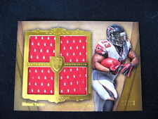 MICHAEL TURNER QUAD RELIC CARD--2012 TOPPS SUPREME #'D TO 20 !!