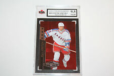 Wayne Gretzky Black Diamond Ruby #60/100 SP 2010-2011 KSA Graded 9.5!!!