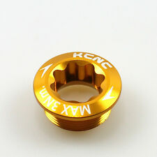 gobike88 KCNC Crank Arm Bolt, M20xP1.0, Gold, 622