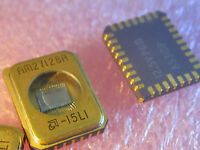 AM27128A-15LI AMD 16K X 8 Industrial Temp Gold CLCC EPROM AM27128 1 Piece