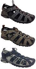 Unisex PDQ Summer Walking Sandals Closed Toe Toggle Beach Trekking Sport