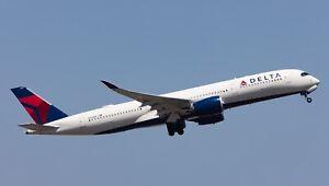 INFLIGHT 200 WB359DL511U 1/200 DELTA AIR LINES A350-941 REG: N511DN FLAPS UP W/S