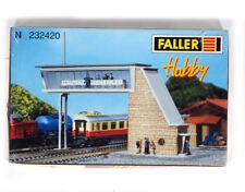 FALLER 232420 KIT N gauge , Overhead Signal Tower , Brugseinhuis , NEW NUE NUEUE