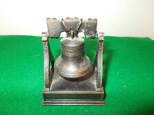 Vintage Play Me Liberty Bell Pencil Sharpener Ref. 968; Made in Spain