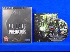 ps3 ALIENS VS PREDATOR Limited STEELBOOK Edition Playstation PAL UK REGION FREE