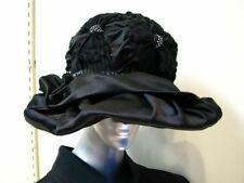63a6a706 Satin Vintage Hats for Women for sale | eBay