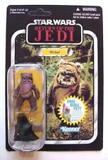 Star Wars ROTJ Ewok Vintage Collection WICKET VC27 2010 UNPUNCHED C-10 Mint MOMC