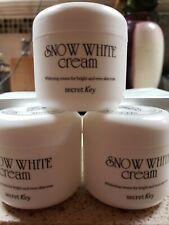 [Secret Key] Snow White Cream (3) Per Lot Of Bright And Even Skin Tone 1.76 Oz