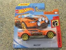 Hot Wheels 2018 # 000/365 RALLY gato naranja HW TEMERARIOS Funda Jarno