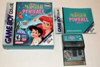 THE LITTLE MERMAID II: PINBALL FRENZY COMPLETE IN BOX NINTENDO GAMEBOY COLOR CIB