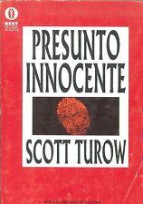 PRESUNTO INNOCENTE - SCOTT TUROW - ED. OSCAR
