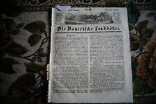 1844 Landbötin 3 / Karl Heinrich Koch Georg Rosen Muş Musch Türkei