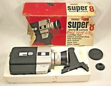 EMDEKO EM 8000 Super 8 Movie Camera - Zoom Lens Slow Motion Fully Automatic