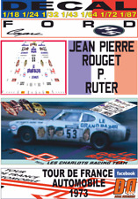 DECAL FORD CAPRI LES CHARLOTS-EL GRAND BAZAR J.P.ROUGET TOUR DE FRANCE 1973 (03)