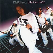 DMX Krew - We Are DMX - CD Album - ELECTRO SYNTH POP - REPHLEX '99