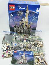 LEGO Disney Castle 71040 Building Set w/ Box & Instructions