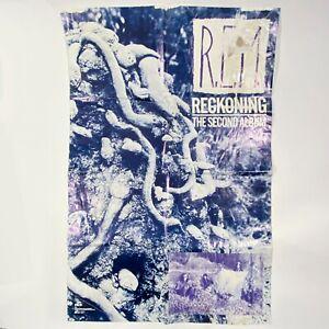 Vtg 1984 REM R.E.M. Original Reckoning Howard Finster 24x36 Promo Poster RARE