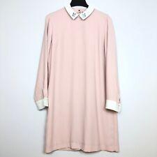 Victoria Beckham Target Women Large Pink Bunny Dress Shift Easter Spring Rabbit