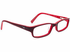 Nike Women's Eyeglasses 5515 624 Burgundy Rectangular Frame 48[]17 130 Small