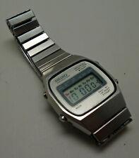 Vintage Seiko M929 LCD/Digital Chronograph Watch
