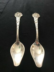 """Vine Holly by Tiffany & Co Sterling Silver Melon Citrus Spoon 6 1/4"""""""