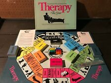 Vintage 1986 THERAPY Board Game PRESSMAN Fun Psychological Twist CHECK THIS OUT!