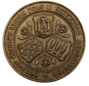 Surrey County Water Polo & Swimming Association Medal - Reserves Comp 1928