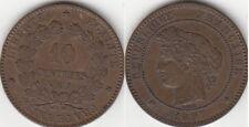 Monnaie Française 10 Centimes Cérès 1897