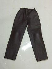 pantaloni in pelle donna bmw tg 42