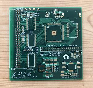 Amiga 500 - A314 v1.2 Raspberry Pi Co-Processor Accelerator PCB- 4-Layer ENIG