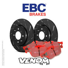 EBC Front Brake Kit Discs & Pads for Volvo V70 Mk1 2.3 Turbo R 4WD 97-99