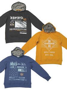 Jungen Sweatshirt Sweater Hoody 140 152 164 176 Kapuzen-Pullover Pulli Hoodie