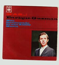 ENRIQUE GUZMAN: MAS...! Single, 45 RPM. CBS-Hispavox, 1964.