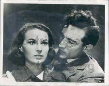 1955 Vittorio Gassman Silvana Mangano in Mambo Press Photo