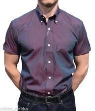 Camicie casual da uomo in cotone aderente
